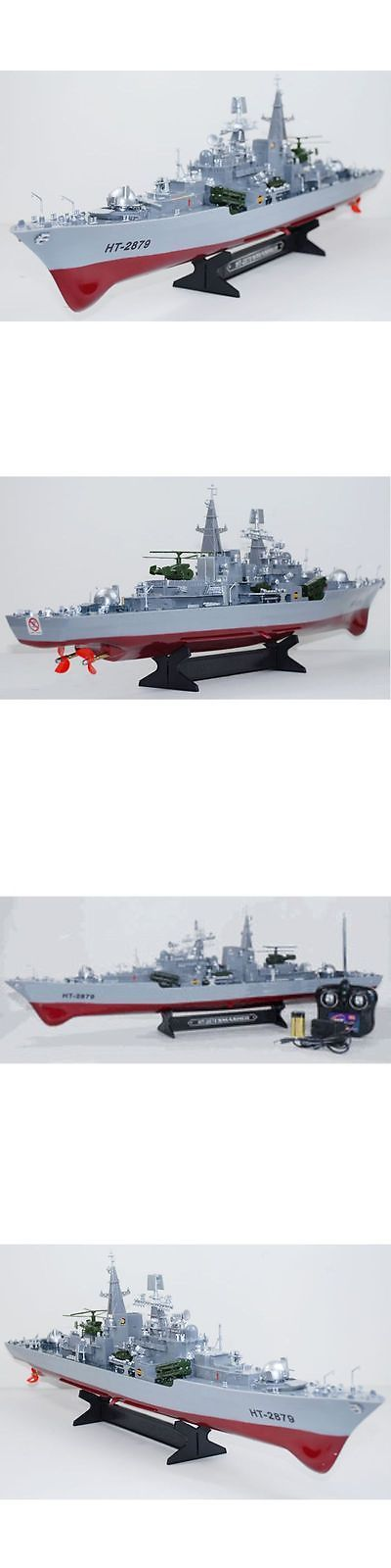 Boats and Watercraft 87480: Rc Boat 31 1:115 Destroyer Radio Remote Control Battle Ship -> BUY IT NOW ONLY: $66.39 on eBay!