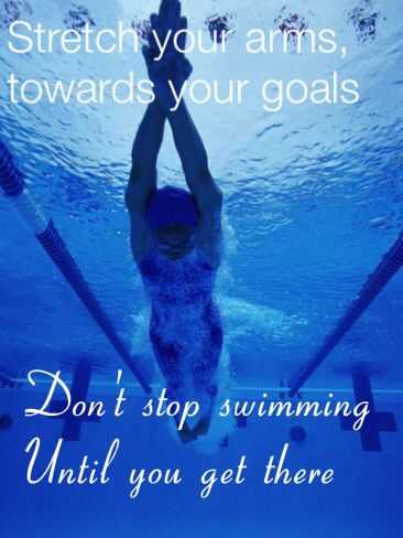 Swimming quotes                                                                                                                                                     More