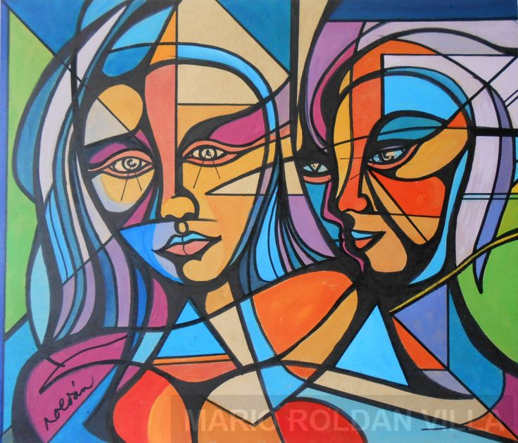 Faces Art artist: Mario Roldán Villa