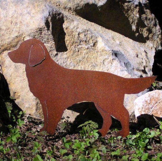 Rusty+Finish+Golden+Retriever+Dog+Metal+Garden+Art+by+MountainIron,+$36.99