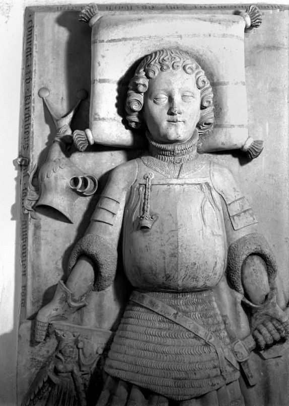 Name: Konrad IV von Kirchberg Dating: 1417 Location: Wiblingen Abbey, Ulm, Baden-Württemberg, Germany