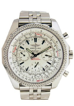 Breitling Bentley Motors Chronograph Stainless Steel Men's Watch A2536212-G5-970A