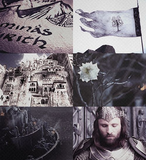 I swear to you, I will not let the White City fall-Aragorn, High King of Gondor. Disquised as Strider.