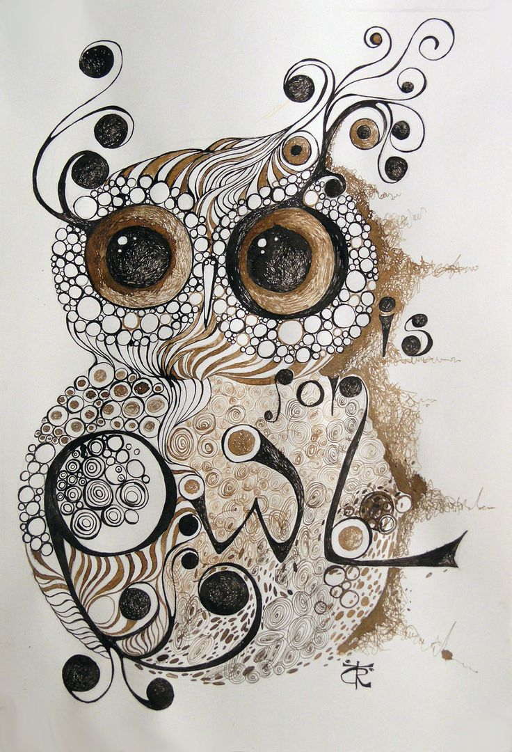 owl art pictures | My Sweet Owl by Ralu77
