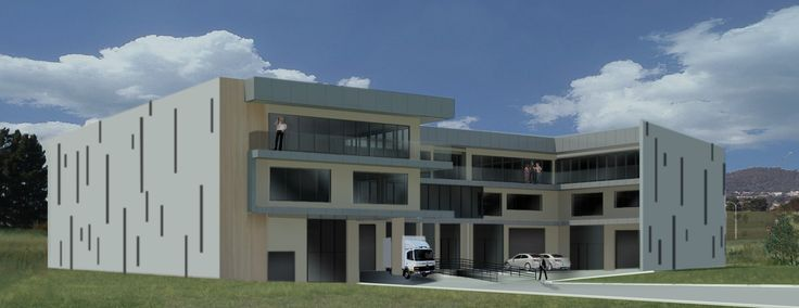 Commercial Property. Bordeaux can build to your specified requirements. Our future development in Fyshwick Canberra.
