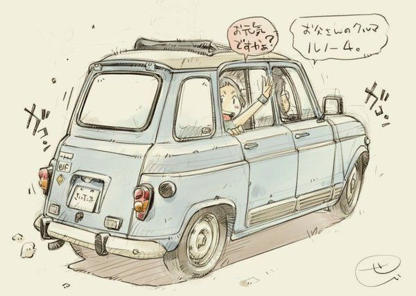 """Takaminn on Twitter: """"@sekihang_MYBK 本当だ! 普段の足としては何の問題も無いですよね。 ただなんとなくなんですけど、オーヴァーライダーが装着されるとムリが出ますね。スバルR2みたいにFフェンダーに錆が出てきそうな… (ガレージがあれば別になんというモノでもない事案なんですけどね^^;"""""""