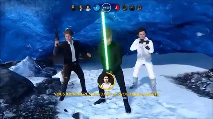 Comment jouer les Héros de Star Wars Battlefront (Gameplay Qc)