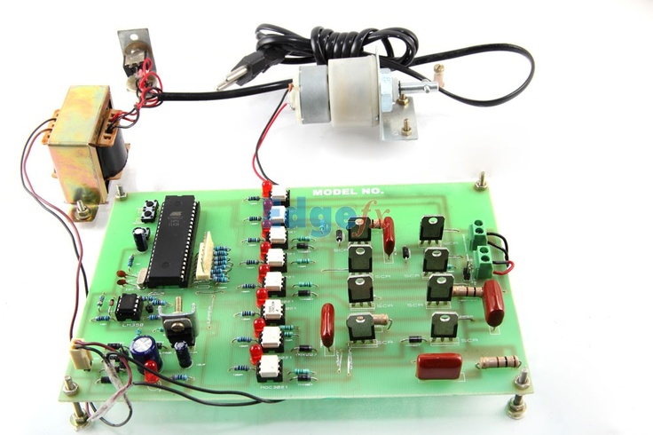 Four Quadrant DC Motor Speed Control with Microcontroller - The ...