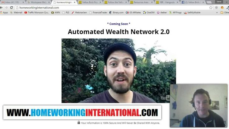 AWN 2.0 Launch Update Nov 2015 - When Is Automated Wealth Network 2.0 Go...