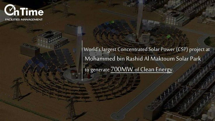 His Highness Sheikh Mohammed bin Rashid Al Maktoum announced the Worlds largest Concentrated Solar Power (CSP) project at Mohammed bin Rashid Al Maktoum Solar Park to generate 700MW of clean energy. . . . . . . . . . . . . . . #SolarPlant #Worldrecord #MyDubai #DubaiCares #Dxb #CleanEnergy #csp #hishighness #rashidalmaktoum #solarenergy #project #dubai #dubaimedia #dxbmediaoffice #info #dubaiprojects #fm