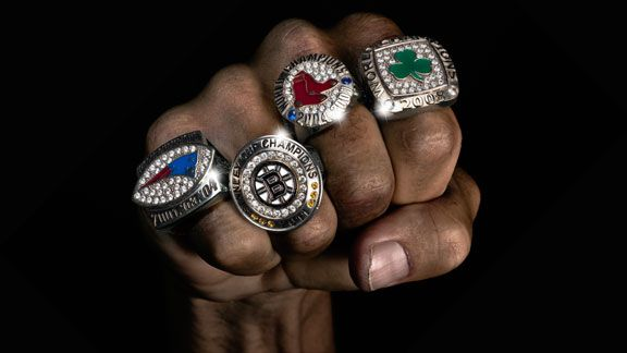 Boston Born... Boston bred   New England Sports Titletown - Massachusetts the ONLY state to hold all 4 Championship rings.  New England Patriots Boston Celtics Boston Bruins Boston Red Sox