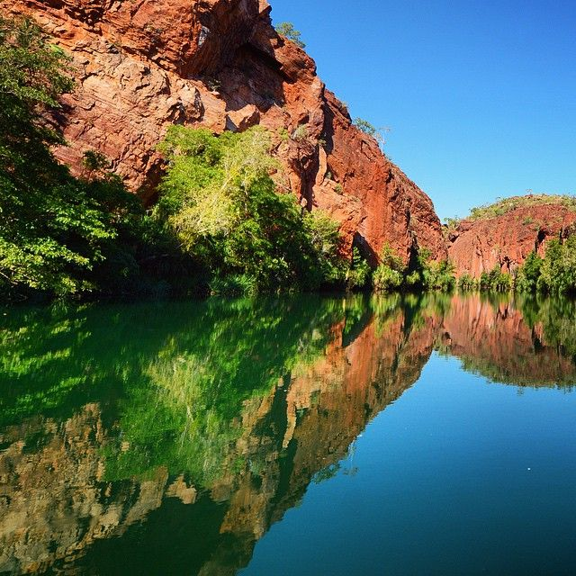 Lawn Hill Gorge is waiting to be explored. #thisisqueensland photo @rikerama