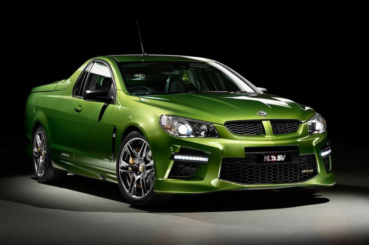 New Holden HSV GTS Maloo is Mad; Has 577 HP