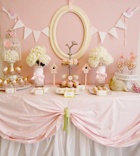 Get inspired for a girlie baby shower! #HonestBabyShower