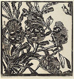 banksia cobs - Margaret Preston: Australian Artist (1875-1963)