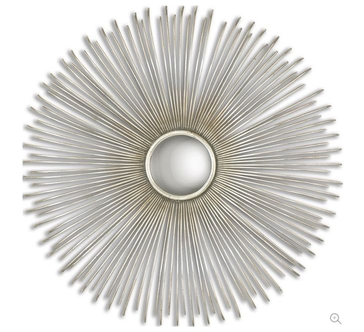 Dazzling-32-Convex-Silver-Sunburst-Wall-Mirror-transitional-wall-mirrors