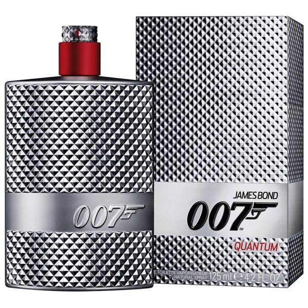 007 Quantum De James Bond Eau De Toilette Spray 75 ML à 44.99 € au lieu de 50.00 €   chez Parfums moins cher   Quantum est un parfum pour les amateurs d