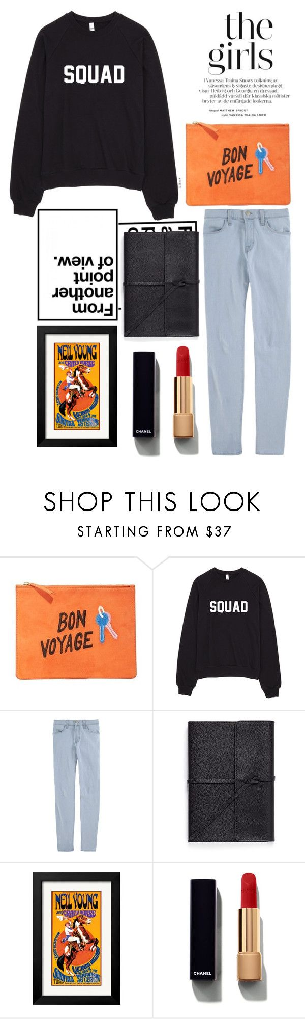 """""""Soul"""" by ivoryt2 ❤ liked on Polyvore featuring Lizzie Fortunato, J Brand, Bynd Artisan and Chanel"""