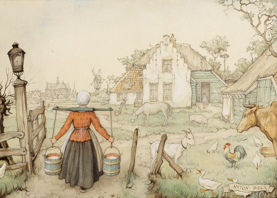 The Farm  Anton Pieck