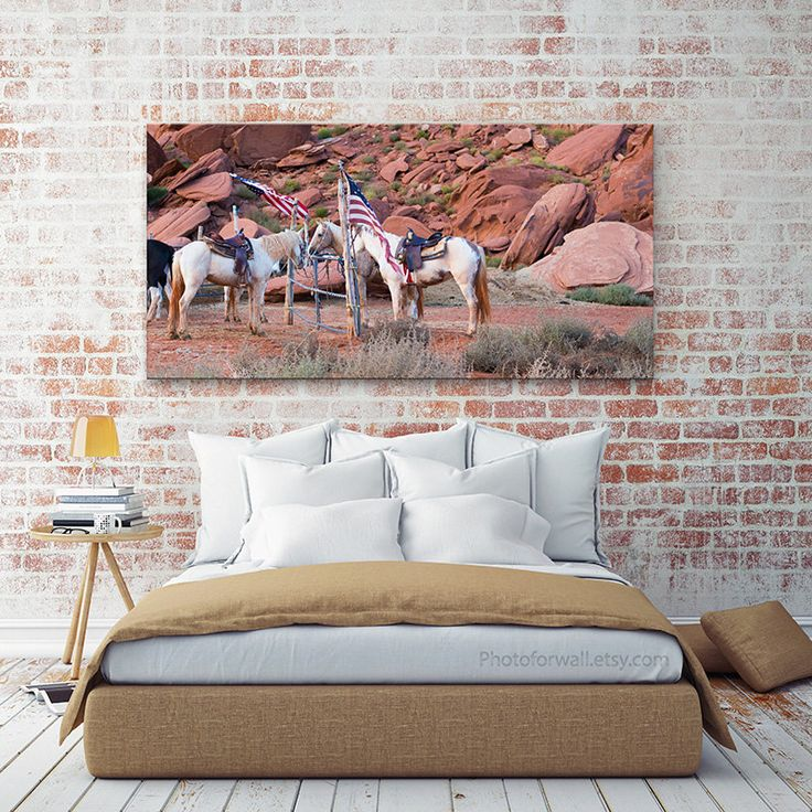 Mustang horse decor horse photography large wall