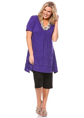 #TS Basiks Addiction Tunic #plussize #curvy #takingshape