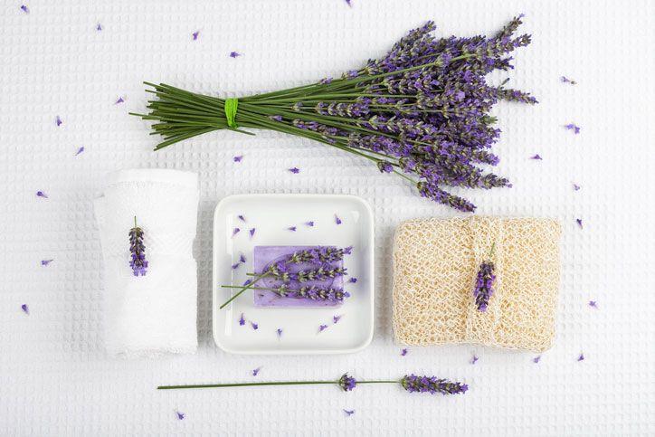 Een origineel cadeautje of lekker voor jezelf: handgemaakte lavendelzeep brengt een frisse glimlach naar boven!