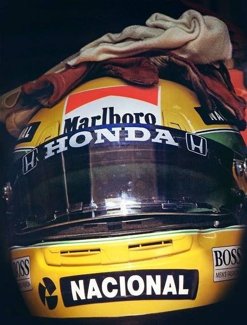 Senna's helmet