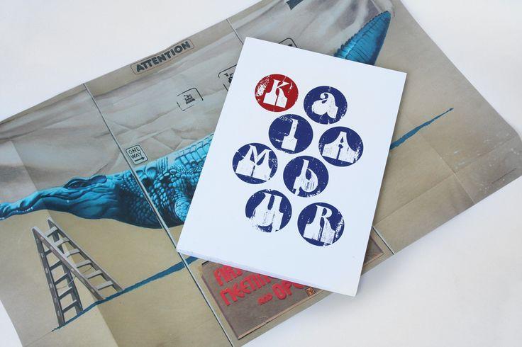 """design: Artur Skowronski """"Kalambur 1957–2014"""" wydawca: Ośrodek Kultury i Sztuki we Wrocławiu"""
