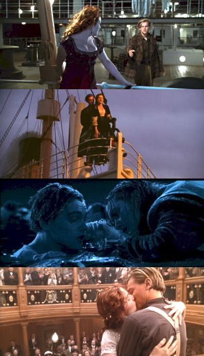 Titanic - Rose dresses: Jump, Flying, Swim, Heaven