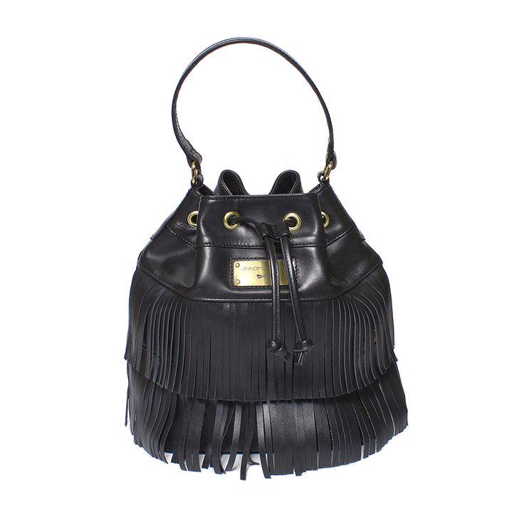 PULLI black bucket bag by Annamaria Pap