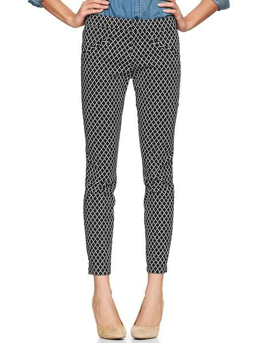 Gap | Printed ultra skinny pants