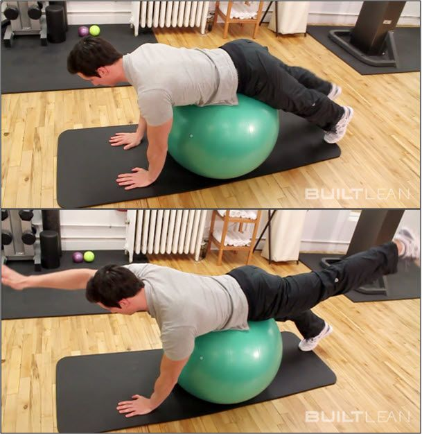 bird-dog-exercise-with-exercise-ball