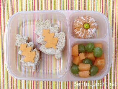 BentoLunch.net - What's for lunch at our house: Fall Leaf Bento