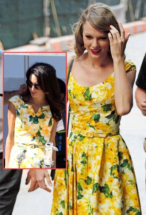 Belakangan ini, berbagai fashion trend memang sedang bermunculan. Yang paling digemari kebanyakan wanita adalah vintage style yang identik dengan outfit-outfit manis yang unik dan terkesan low profile. Taylor Swift sendiri memang sudah sangat terkenal dengan gaya vintage-nya. Ditemui dalam beberapa kali kesempatan, ia pun selalu berinovasi tentang outfit-outfit apa saja yang cocok dan pas untuknya. Namun, siapa sangka jika Amal Clooney juga memiliki selera yang sama dengan dirinya? Lihat ...
