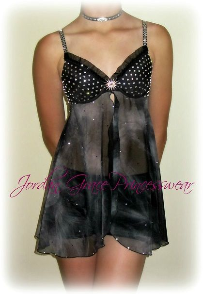 """Sweet Dreams"" custom lyrical solo costume"