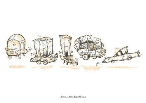 Cars study . Sketch ChiaraLamieri Illustrator  chiara.lamieri@gmail.com http://chiaralamieri.tumblr.com/ https://www.instagram.co/chiara_lamieri