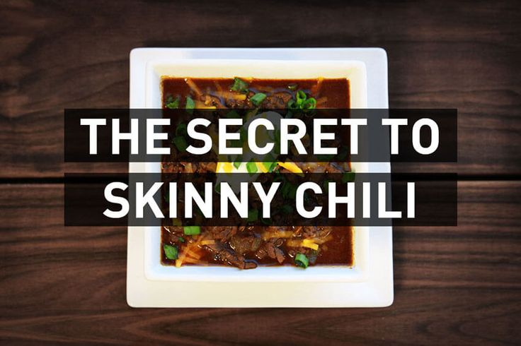 Healthy bean-free chili recipe your family with love!