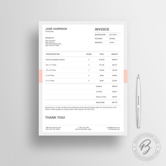 25 Best Ideas about Invoice Template – Invoice Slips