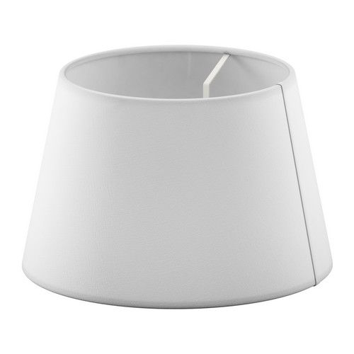 JÄRA Shade IKEA Fabric shade gives a diffused and decorative light.