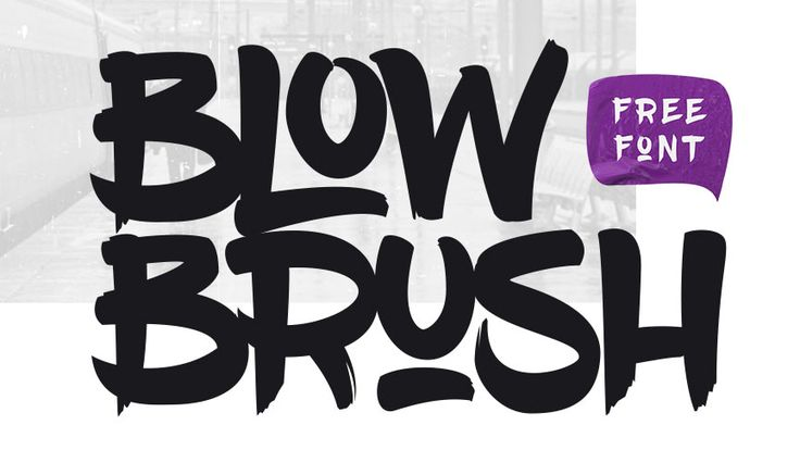 The 52 best free graffiti fonts.