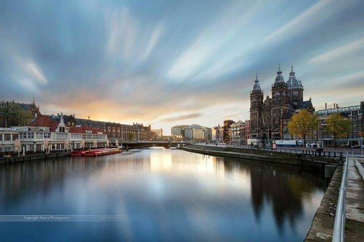 Zonsopgang Amsterdam