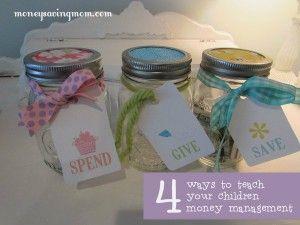 leer de kinderen met geld omgaan en pimp leuke (babyvoeding) potjes