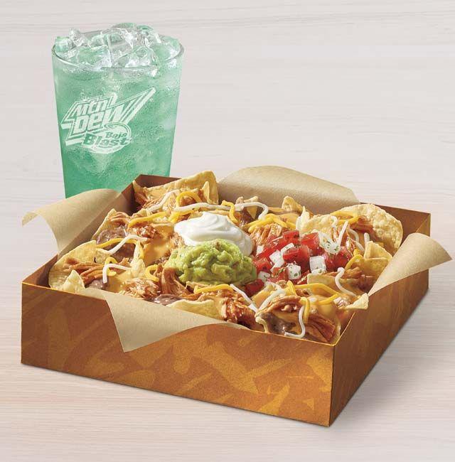 Grande Nachos Box Shredded Chicken Customize It Taco Bell Taco Bell Taco Bell Recipes Easy Taco Recipes