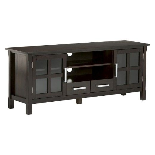 <p>Kitchener 60 inches wide x 24 inches high TV Stand in Dark Walnut Brown</p><p> </p><p>The TVs just keep getting bigger and bigger. You really need to find that perfect TV Stand that will accommodate the size of your TV, while allowing you to have comfortable viewing. The Kitchener TV Stand is perfectly sized for TV's up to 66 inches. The Kitchener TV Stand has plenty of storage ...