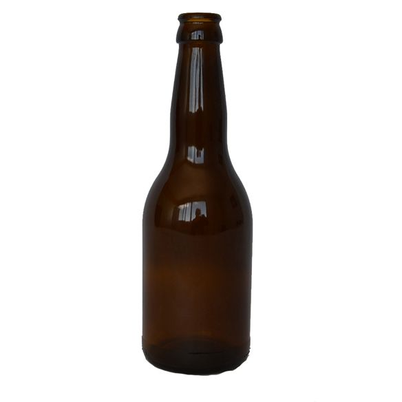 330 ml Stubsi. Botella de vidrio ideal para cervezas.