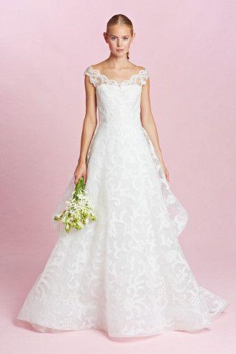 Wedding Magazine - Oscar De La Renta autumn/winter 2015 wedding dresses