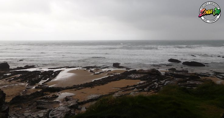 After a very gloomy morning the fog has begun to lift revealing a very messy 6ft+ with strong onshore wind Unfortunately northerly winds will be a constant today however they will turn lighter. Take care if you do go out this morning! High Tide (am): 05:58 (7.6m) Low Tide (am): 00:00 High Tide (pm): 18:16 (7.9m) Low Tide (pm): 12:18 You may get a wave in summerleaze this evening with a big board For our full report and a 7 day prediction head to: https://www.zumajay.co.uk/surf-report
