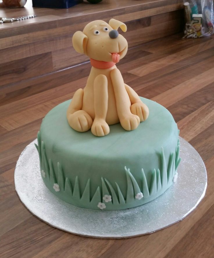 Dog birthday cake for a 7 year old little boy x