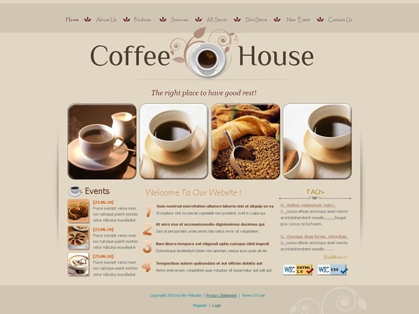 Coffee 068(W3C Valid XHTML