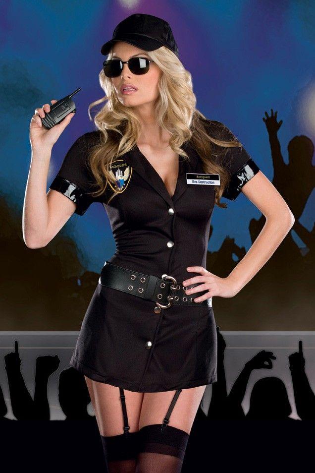 Tempting Police Hottie Cosplay Costume